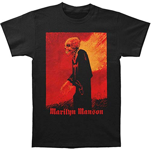 Marilyn Manson Herren T-Shirt Mad Monk schwarz