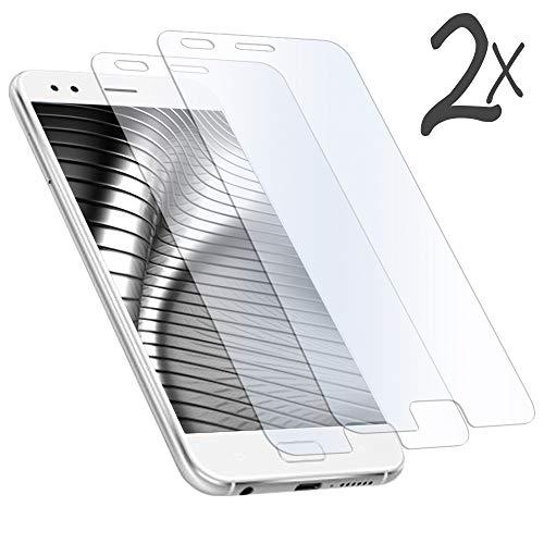 5.9 2X Cristal Pantalla para ASUS ZenFone 4 (ZE554KL) | Resistente y Transparent