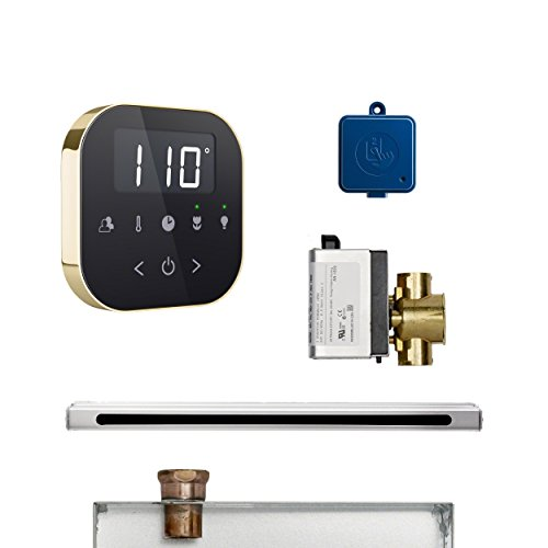 Lowest Prices! Mr. Steam ABUTLERLBKPB AirButler 2 Linear Package White Polished Brass