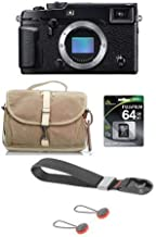 $1499 Get Fujifilm X-Pro2 Mirrorless Camera Body, Black - Bundle F-803 Camera Satchel Bag, by Domke, 64GB Class 10 UHS-1 SDXC Memory Card, Peak Design Camera Cuff Wrist Strap, Charcoal