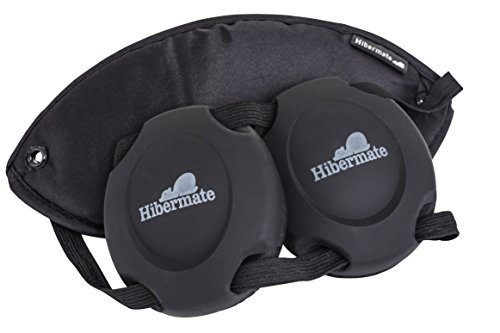 Hibermate Sleep Mask with Ear Muffs for Better Sleeping at Home or...