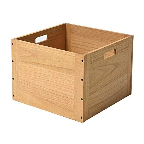 KIRIGEN cubo de madera organizador de almacenamiento de madera cubo de almacenamiento de madera para el hogar Libros Ropa Juguete Natural