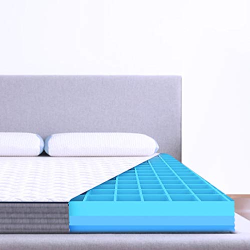 The Sleep Company SmartGRID Luxe 8' Mattress Single Bed - 72x36x8 inches