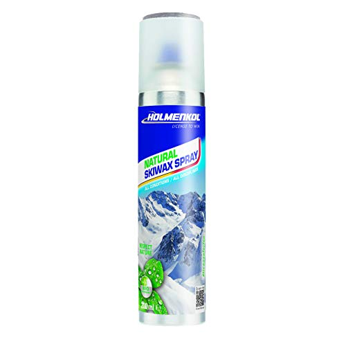 Holmenkol Unisex– Erwachsene Sprühwachs, neutral, 200 ml