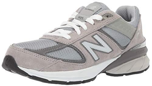 New Balance 990 V5 Zapatillas con cordones para niños, Gris (gris), 37 EU