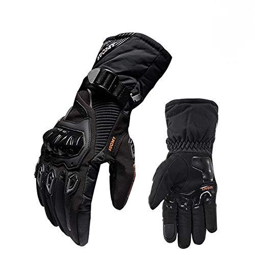 WEIHUIMEI 1 Paar Winter Leder Thermal Biker Motorrad Motorrad Wasserdichte Handschuh Warme Ski Handschuhe Antislip Bike
