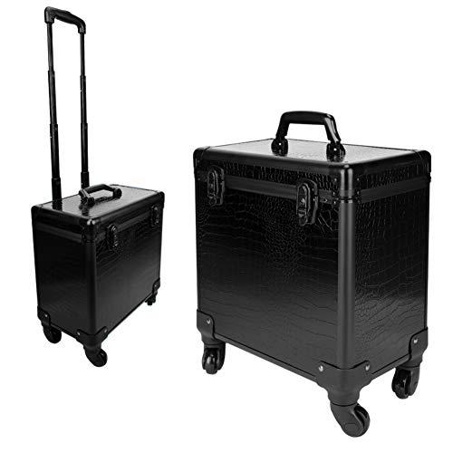 Boîte De Rangement De Boîte À Outils De Coiffure De Grande Capacité Nail Technician Trolley Case Cosmetics Beauty Trolley Box