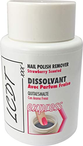 Lot de 2 dissolvants express 70 ml - Parfum fraise