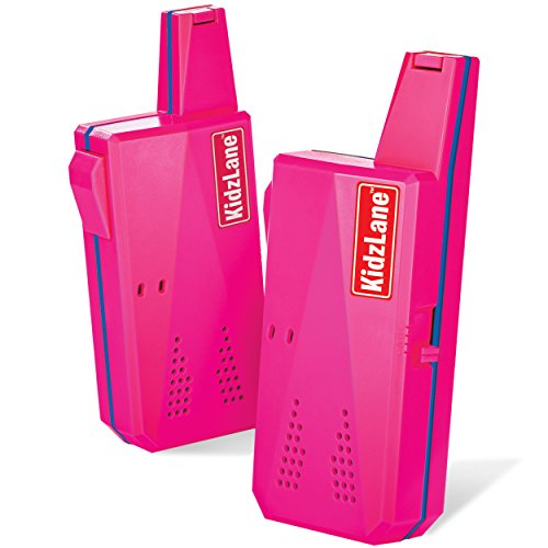 Kidzlane Durable Walkie Talkies for Girls, Easy to Use and Kids Friendly 2 Mile Range, 3...
