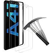 ANEWSIR 3 Stück Panzerglas für Samsung Galaxy A41 Schutzfolie Displayschutzfolie, 9H Härte Panzerglasfolie Displayschutz [Positionierungsrahmen] [Anti-Kratzen] [Blasenfrei] [2.5D Rand]