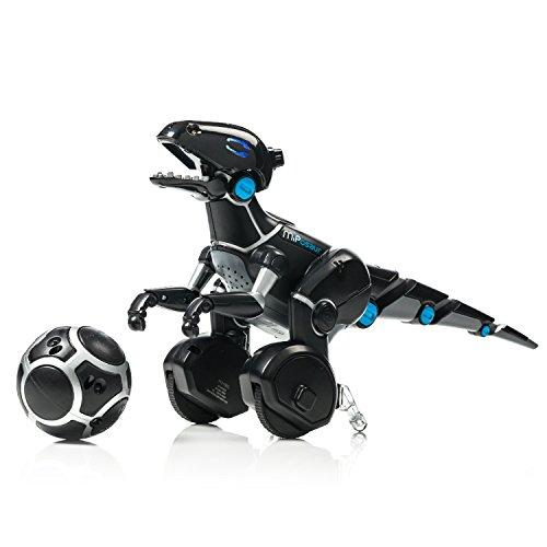 JUGUETRÓNICA- Robot MiPosaur, Color Negro (WowWee 0890)