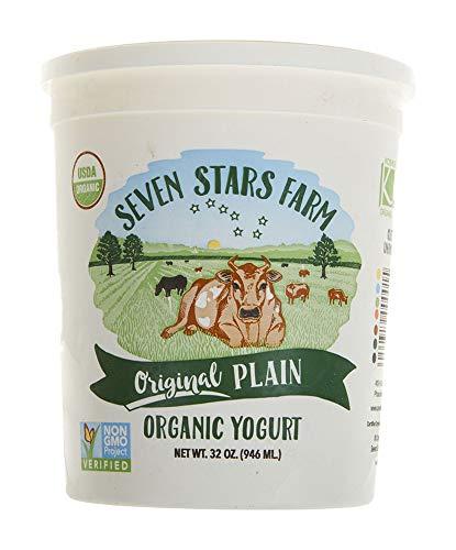 Seven Stars Dairy Yogurt, Plain, 32 oz (frozen)