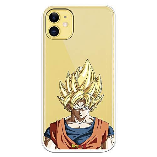 Funda para iPhone 11 Oficial de Dragon Ball Goku Super Saiyan para Proteger tu móvil....