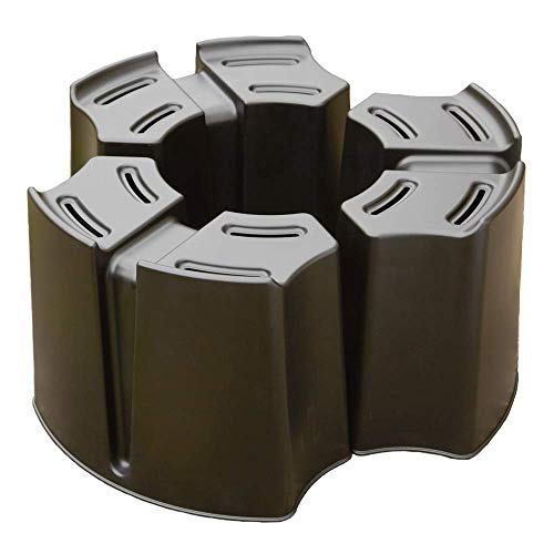 Original Organics Adjustable Multi Part Water Butt Stand - Can Be Used For Various Sizes