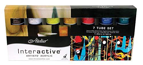 Chroma Atelier Interactive Acryl 80ml 7-Tubes
