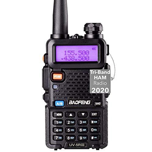 Tri-Band Radio Baofeng Radio Series Walkie Talkies VHF 1.25M UHF