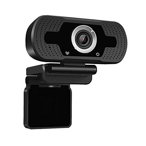 Bradoner 1080P HD Webcam con micrófono, cámara Web del Ordenador PC cámara Webcam for Video Llamadas de Conferencia de grabación 2MP USB2.0