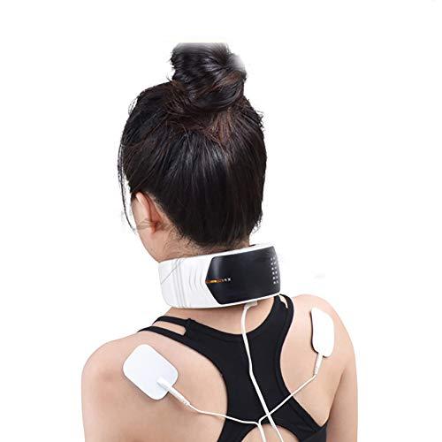 ZUEN Zervikalmassagegerät, Zervikalmassagegerät, Nackenmassagegerät, drahtlose Fernbedienung, Fernbedienung, LCD-Menü,EU