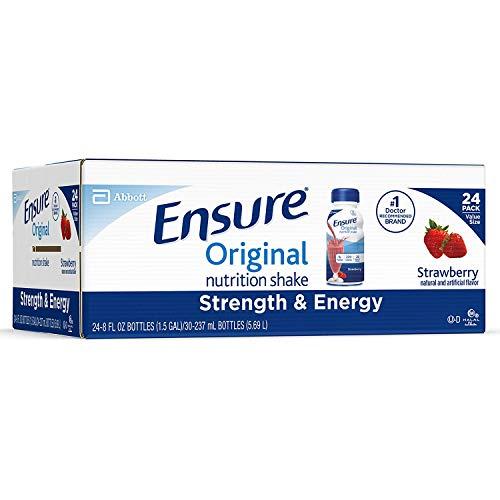 Ensure Original Nutrition Shake, Strawberry (8 Fl. Oz, 24 Ct.)