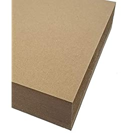Chipboard- 8.5″x11″ 22pt (100 Sheets) – 100% Recycled- Made in USA
