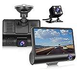 Car DVR Dash Camera Dvr 3 in 1 Dash Cam HD Dual Lens Dash Cam 1080P Video Recorder Auto Registrator Parking Monitor Rearview