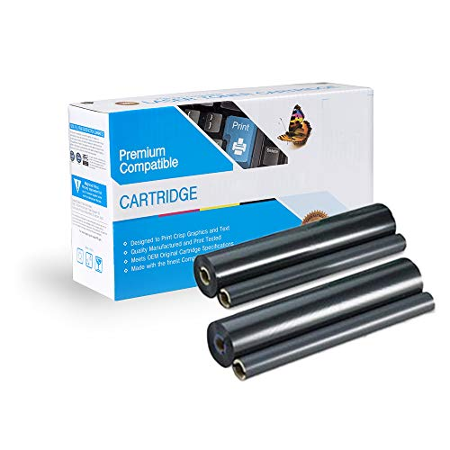 4 Pack of Replacement Refill Rolls Compatible with Panasonic KX-FA136, KX-FM205, KX-FM210, KX-FM220, KX-FM260