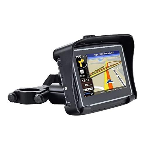 Motorfiets Navigatie Sat Nav GPS, Motorbike Satellite Navigation Waterproof 4,3 inch Win CE 6.0 Car GPS Navigator - Ingebouwde 8GB Flash met Map-FM Transmitter/Bluetooth