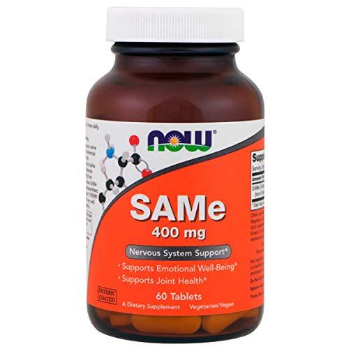 Same SAM-E S-Adenosyl-Methionine 400mg (60 TABS) Now Foods