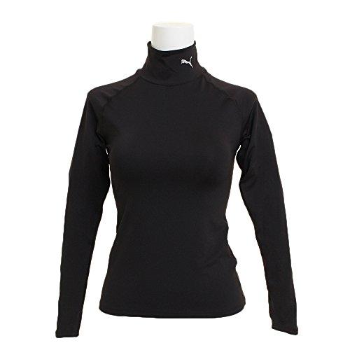 [プーマ] トレーニングウェア テック ライト 長袖モックネック Tシャツ 516806 [レディース] プーマ ブラッ...