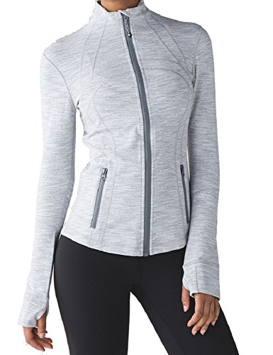 Lululemon Define Jacket (12, Wee are from Space Ice Grey Alpine White)