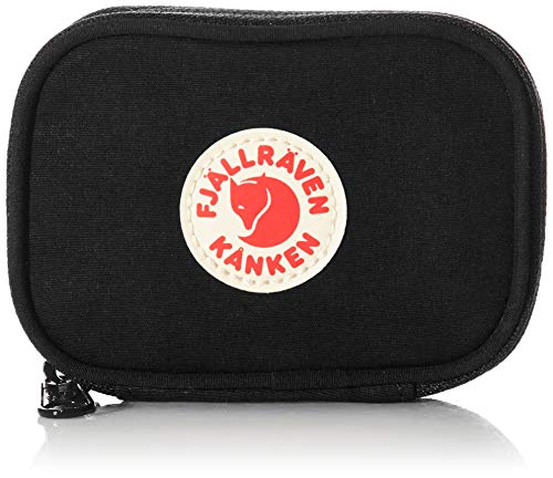 Fjällräven Unisex-Adult Kånken Card Wallet Sports Backpack, Black, One Size