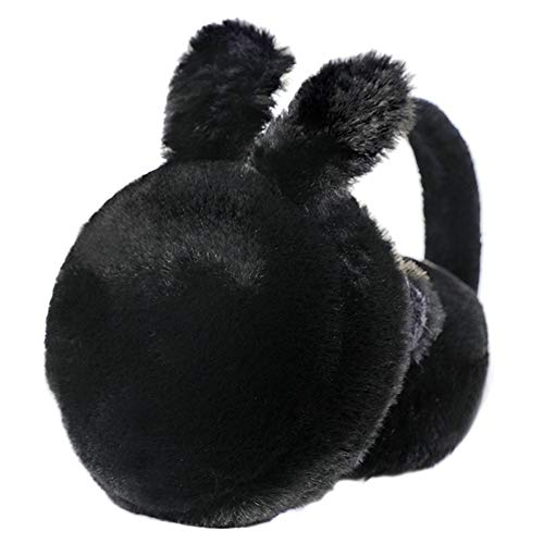 Ear Men Black Style Fleece paraorecchie invernali Muff Wrap Banda Warmer Grip earlap confortevole paraorecchie