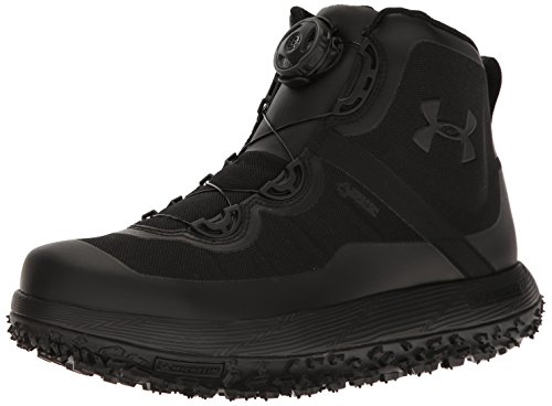 Under Armour Men's Fat Tire Gore-TEX Hiking Boot, Black (001)/Black, 10.5