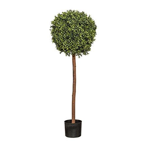 Pflanzen Kölle Kunstpflanze Buchskugelbaum grün, im Kunststofftopf, ca. 120 cm