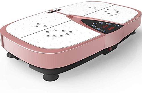 XBSXP Vibrationsplattentrainer für Fitness mit Vibrationsplatte mit Bluetooth USB-Musikfunktion für Massageplattformgeräte für Heimfitness und Gewichtsverlust