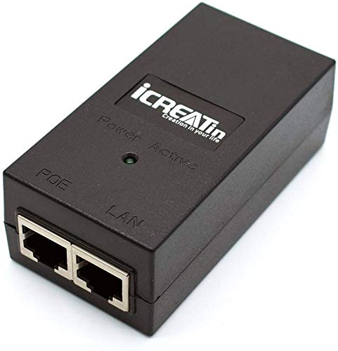 iCreatin 48V POE Injector Adapter P…