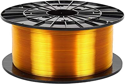 Czech-Made PETG, Transparent Yellow, ? 1.75 mm, 1 kg Spool, 3D Printing Filament from Filament PM