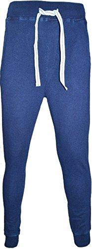 Soul Star - Pantalon de Sport - Homme Bleu Denim foncé XL