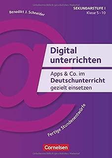 Apps & Co. im Deutschunterricht gezielt einsetzen - Klasse 5-10: Fertige Stundenentwürfe. Kopiervorlagen