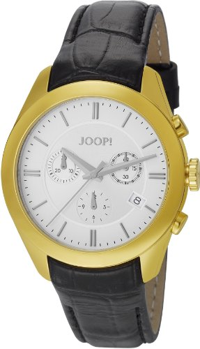 Joop Herren-Armbanduhr XL Aspire Chronograph Quarz Leder JP101042F02