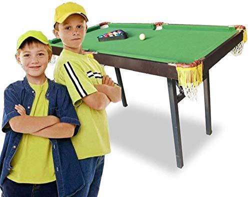 LINANNAN Casa Grande Mesa de Billar, Mesa Ocio Piscina para niños pequeños,...