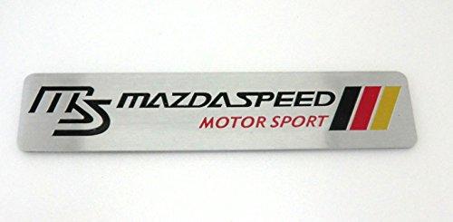 MAZDA SPEED マツダ MS ステッカー デカール 黒/赤/黄 PS024