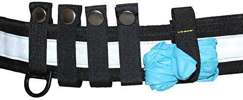 tee-uu BELT KEEPER Set (5 teilig) für QUICK & BLACK Rettungsdienst-Koppel
