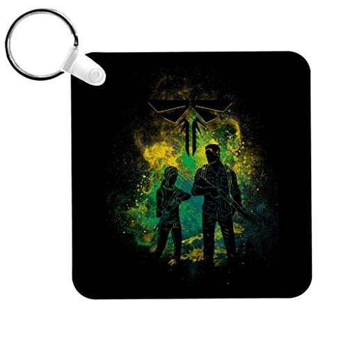 Cloud City 7 The Last of Us Joel and Ellie Outline Keyring