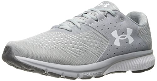 Under Armour Men's Charged Rebel Running Shoe, Overcast Gray (101)/Elemental, 8.5