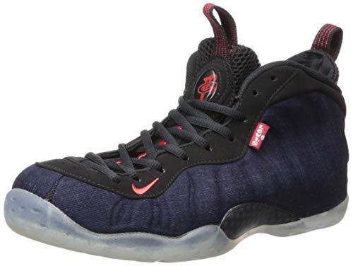 Nike Air Foamposite One, Zapatillas de Baloncesto para Hombre, Multicolor (Obsidian/Black/University Red...