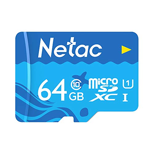 Tarjeta Micro SD 64GB Clase 10 Docooler Netac