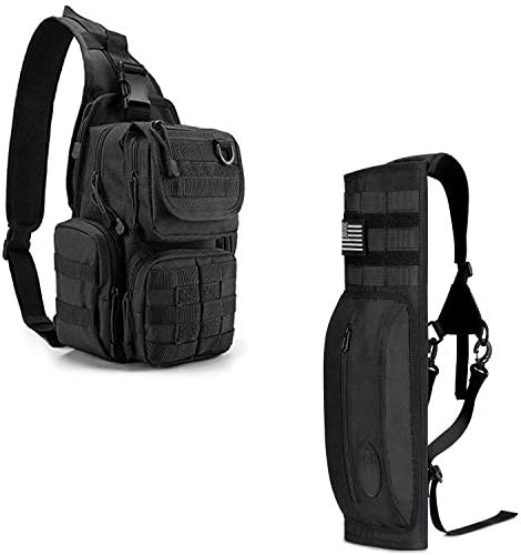 G4Free Outdoor Tactical Bag Backpack G4Free Canvas Archery Back Arrow Quiver with Pocket product image
