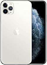 Apple iPhone 11 Pro Max with FaceTime - 64GB, 4GB RAM, 4G LTE, Silver, Single SIM & E-SIM