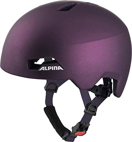 ALPINA HACKNEY Fahrradhelm, Kinder, dark-violet, 47-51